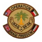 Operation Iraqi Freedom Iraq-05-06 Patch