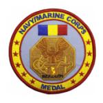 Navy and Marine Corps Service Medal Patch