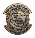 Operation Iraqi Freedom Heaven / Hell Patch