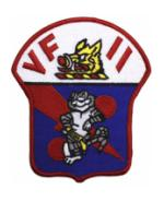 Navy Fighter Squadron VF-11 (Red Rippers) Patch