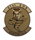 Air Force 21st Special Ops Squadron (Dust Devils) Patch