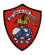 USS Black DD-66 Ship Patch