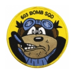 Air Force 603rd Bomb Squadron (WWll) Patch