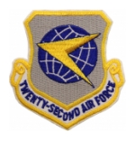 Twenty Second Air Force Patch