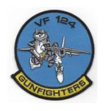 Navy Fighter Squadron VF-124 Patch (GUNFIGHTERS)