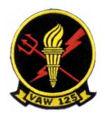 Navy Airborne Early Warning Squadron VAW-125 Patch