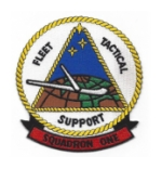 Navy Fleet Aircraft Tactical Support Squadron Patches (FASRON)
