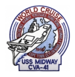 USS Midway CVA-41 (World Cruise) Ship Patch