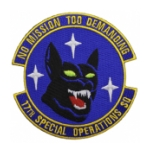 Air Force 17th Special Operations Squadron (No Mission Too Demanding) Patch
