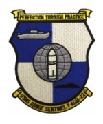 USNS Range Sentinel T-AGM 22 Ship Patch