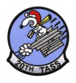 Air Force Tactical Air Support Squadron Patches