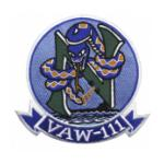 Navy Airborne Early Warning Squadron VAW-111 Patch