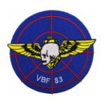 Navy Bomber - Fighter Squadron VBF-83 Patch