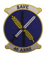 40th Aerospace Rescue and Recovery Squadron Patch