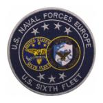 Naval Forces Europe Sixth Fleet Patch