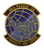 Air Force 38th Rescue Squadron Patch