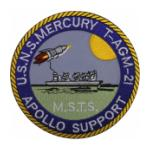 USNS Mercury T-AGM 21 Ship Patch