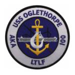 USS Oglethorpe AKA-100 Ship Patch