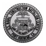 Naval Construction Battalion Center Port Hueneme, CA Patch