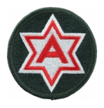 6th Army Patch