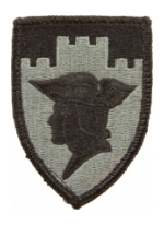 7th Reserve Command Patch Foliage Green (Velcro Backed)