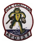 USS Cavallaro APD-128 Ship Patch