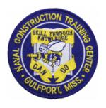 Naval Construction Training Centert Gulfport, MS Patch