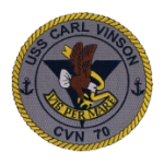 USS Carl Vinson CVN-70 Ship Patch
