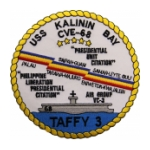 USS Kalinin Bay CVE-68 Patch