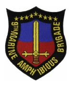 9th Marine Amphibious Brigade Patch