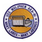 USS Muliphen AKA-61 Ship Patch