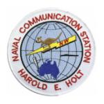 Naval Communication Station Harold E. Holt Patch