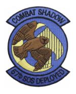 Air Force Special Operations Squadron Patches