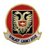 Marine All Weather Attack Training Squadron VMAT(AW)-202 Patch