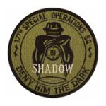 Air Force 17th Special Operations Squadron (Deny Him The dark) Patch