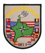 Army Operation Joint Guardian Patch