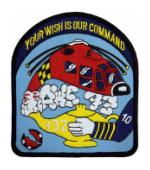 Coast Guard Helicopter Genie Rescue Squadron 132 Patch
