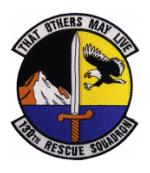 Air Force 130th Rescue Squadron Patch