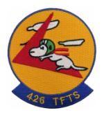 Air Force Tactical Fighter Training Squadron Patches