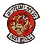 Air Force 21st Special Operations Squadron Patch
