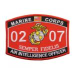 USMC MOS 0207 Air Intelligence Officer Patch