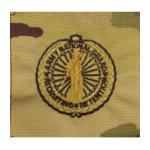 Army Scorpion National Guard Senior Recruiter Badge Sew-on