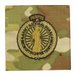 Army Scorpion National Guard Master Recruiter Badge Sew-on