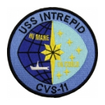 USS Intrepid CVS-11 Ship Patch (In Mare In Coeld)