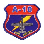 Air Force A-10 Hog Driver Patch