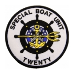 Navy Special Boat Unit Patches