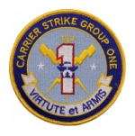 Navy Carrier Strike Group One Patch