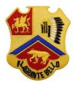 83rd Field Artillery Regiment Patch