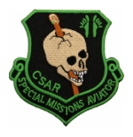 Air Force 33rd Rescue Squadron CSAR Special Missions Aviator  Patch