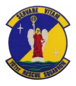 Air Force 101st Rescue Squadron Patch